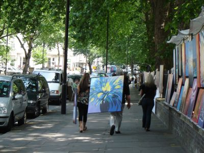 Bayswater Road, Art on a Sunday Event