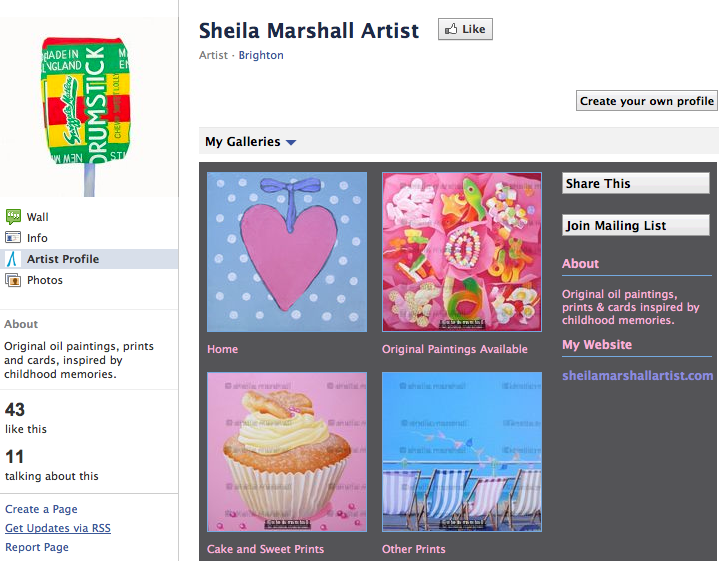 Sheila Marshall's gallery