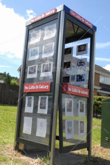 World's Smallest Gallery by Tessa Crawford-Docherty