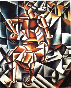 Lyubov Popova - Air+Man+Space, 1912