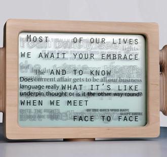 Text Box by Russel Jakubowski via ArtWeb