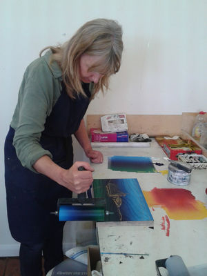 Lino cut workshops
