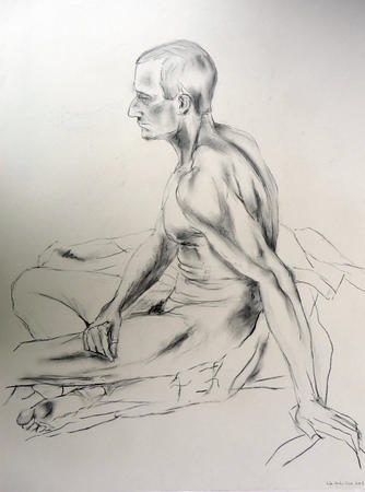 Male Nude by David Duncan via Artweb