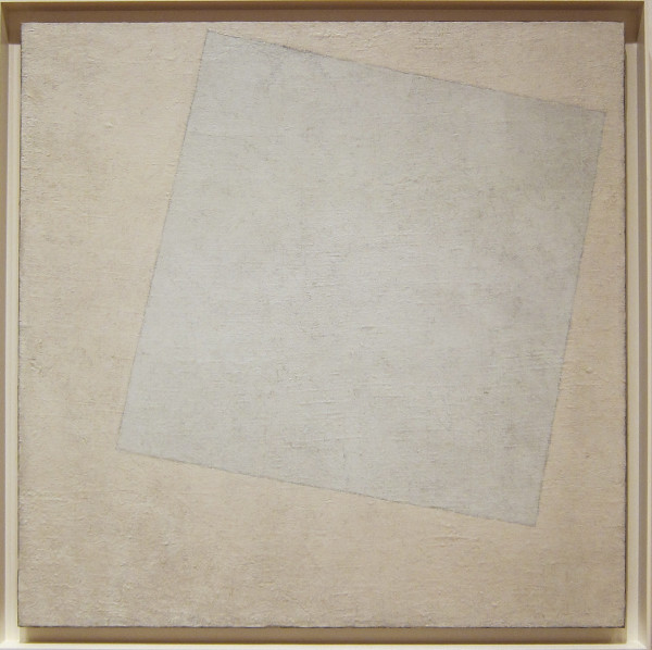 Kazimir Malevich, Suprematist Composition:  White on White, 1918