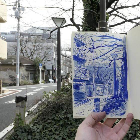 Adrian hogan illustrator japan
